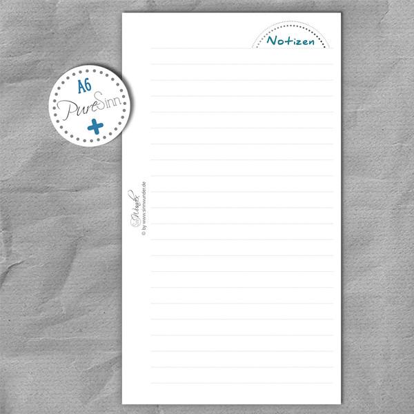 """Zusatzeinlagen """"PureSinn"""" DinA6 (Personal) – Bild 3"""