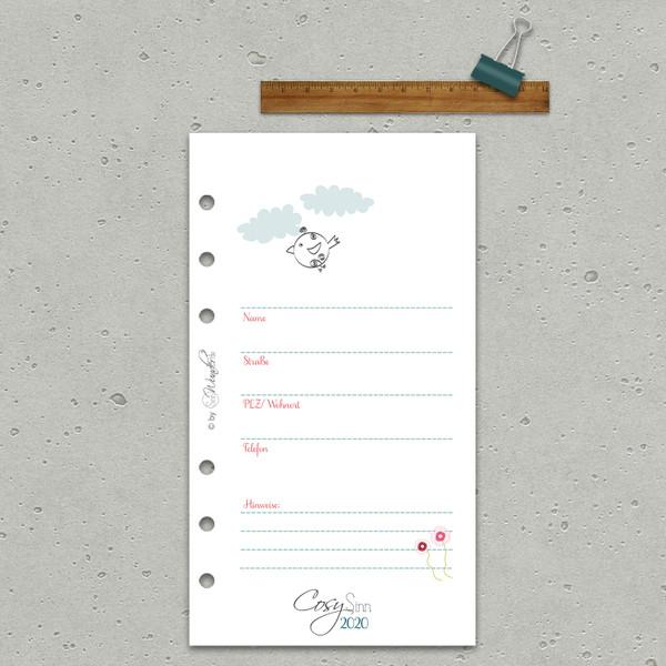 "2020 Tageskalender ""CosySinn"" Personal (A6) – Bild 4"